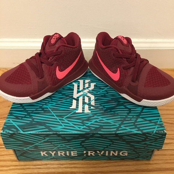 0ac5d4621411 Nike Kyrie 3 Basketball Shoe Toddler NEW IN BOX
